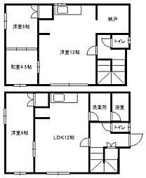 [一戸建] 北海道札幌市白石区東札幌三条4丁目 の賃貸【/】の間取り