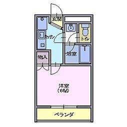 マンション千寿[3階]の間取り
