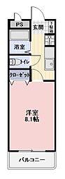 愛知県丹羽郡扶桑町大字高雄字中海道の賃貸アパートの間取り