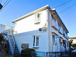 東京都多摩市永山2丁目の賃貸アパートの外観