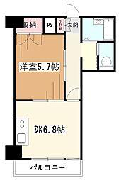 久米川プラネット[6階]の間取り