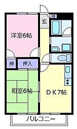 モアクレスト津村PartIII[3階]の間取り