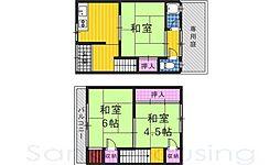 柴田住宅[1階]の間取り