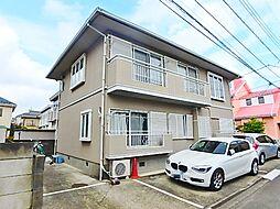 中村アパート[1階]の外観