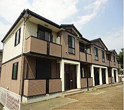 栃木県栃木市新井町の賃貸マンションの外観