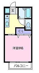コニファー[2階]の間取り