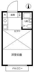 スーマ国分寺[2階]の間取り