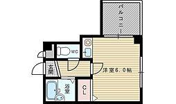 シティステージ新大阪[3階]の間取り