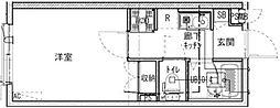 (仮称)保谷町3丁目アパート 1階1Kの間取り