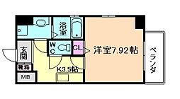 サンライト吉野II[8階]の間取り