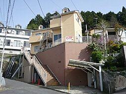 神奈川県鎌倉市岩瀬の賃貸アパートの外観