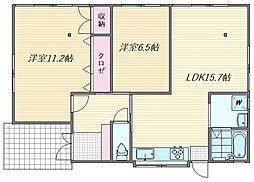 [一戸建] 福岡県福岡市東区名島5丁目 の賃貸【/】の間取り