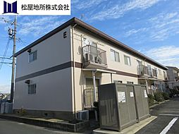 愛知県豊橋市三ツ相町の賃貸アパートの外観
