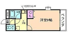 えぴなぁるふぉれすとII[1階]の間取り