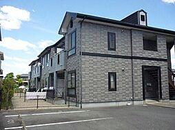 愛知県岡崎市赤渋町字蔵西の賃貸アパートの外観
