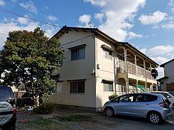 第2みのはら荘[1号室]の外観
