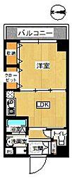 ニノンハウス[403号室]の間取り