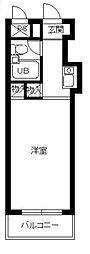 スカイコート宮崎台[3階]の間取り