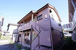 埼玉県朝霞市本町3丁目の賃貸アパートの外観