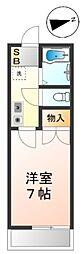 メゾンプライム富士見ヶ丘[2階]の間取り