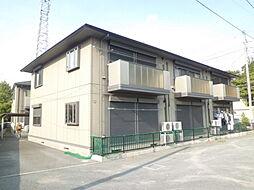 埼玉県狭山市柏原の賃貸アパートの外観