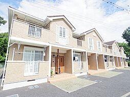 東京都あきる野市平沢の賃貸アパートの外観