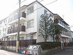 神奈川県川崎市多摩区登戸の賃貸マンションの外観