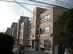 大阪府箕面市箕面3丁目の賃貸マンションの外観