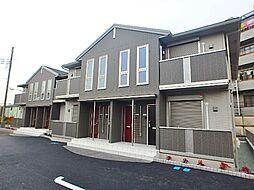 神奈川県相模原市南区大野台3丁目の賃貸アパートの外観