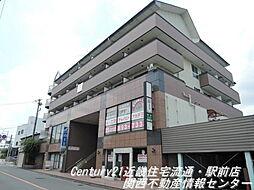 大阪府交野市星田5丁目の賃貸マンションの外観