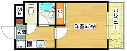 エーデルブルーメラスター[3階]の間取り