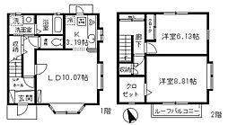 [テラスハウス] 千葉県船橋市南本町 の賃貸【/】の間取り