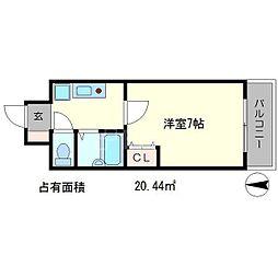 京卓ハイツ[3階]の間取り