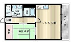 シャンテタツミ[3階]の間取り
