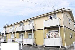愛知県額田郡幸田町大字芦谷字畔杭瀬の賃貸アパートの外観