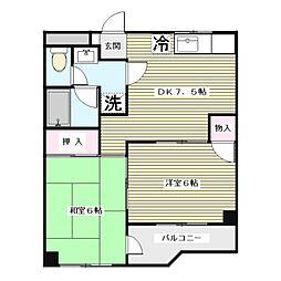 第3飯島ハイツ[3階]の間取り
