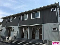 愛知県額田郡幸田町大字芦谷字後シロの賃貸アパートの外観