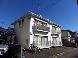 東京都八王子市清川町の賃貸アパートの外観