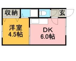 大麻駅 1.5万円