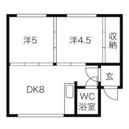 大谷地駅 3.2万円