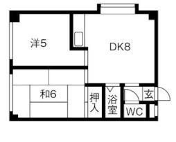 南郷13丁目駅 3.6万円