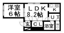 東札幌駅 3.8万円
