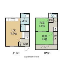 東室蘭駅 4.5万円