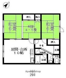 江別駅 4.1万円