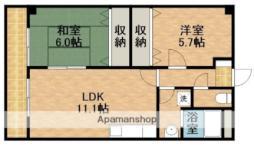 天竜浜名湖鉄道 二俣本町駅 徒歩16分の賃貸アパート 2階2LDKの間取り