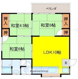 厚狭駅 3.5万円