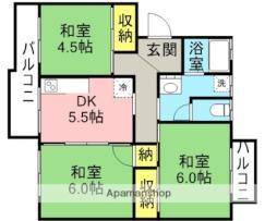 大板井駅 4.1万円