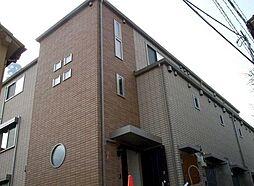 東京都新宿区市谷加賀町2丁目の賃貸アパートの外観