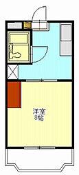 エトワール加藤[3階]の間取り