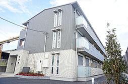 埼玉県草加市両新田東町の賃貸アパートの外観